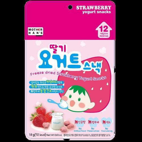 Mother Han's Strawberry Yogurt Snacks