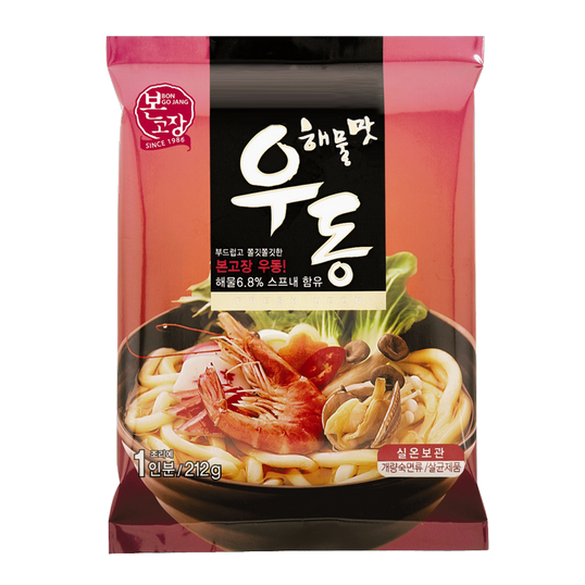 Seafood Flavor Udon